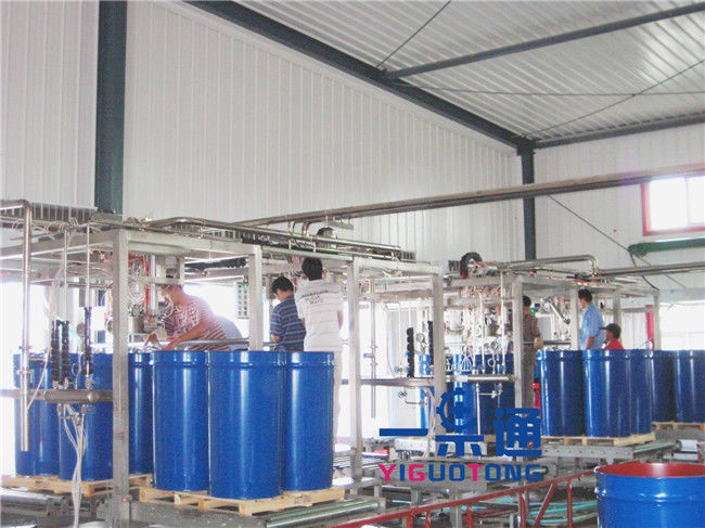citruis juice Aseptic Bag Filler / apple juice Bag In Drum Filling Equipment
